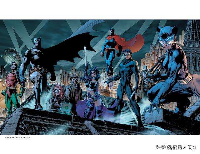 侦探漫画蝙蝠侠,蝙蝠侠漫画中久违的经典侦探漫画《缄默》