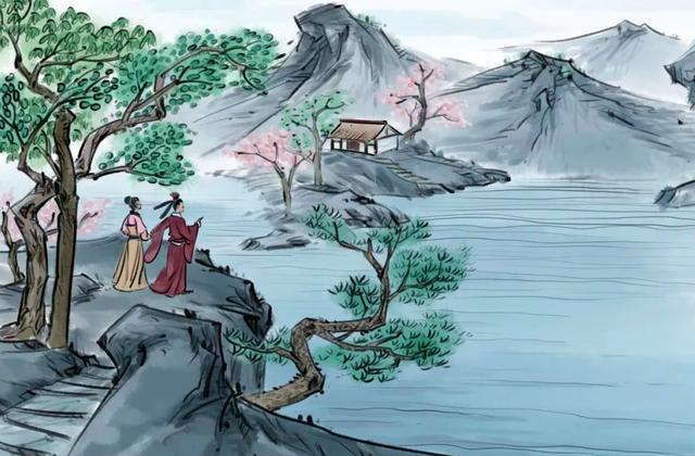 陈子昂的诗,陈子昂很动人的一首诗,只有短短的4句,便说尽千年的孤独
