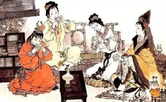 描写水的诗句,雪水还是泉水?古代文人烹茶上品是哪种水?