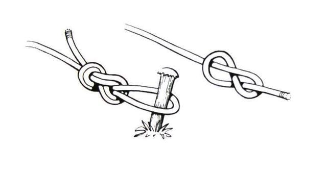八字结打法,攀岩过程中如何打8字结?
