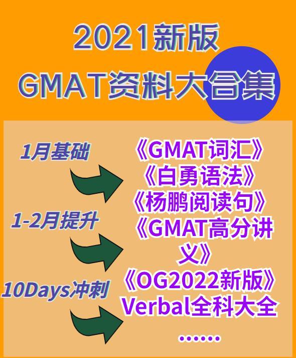 收藏丨Gmat 2-3个月复习计划及备考资料整理