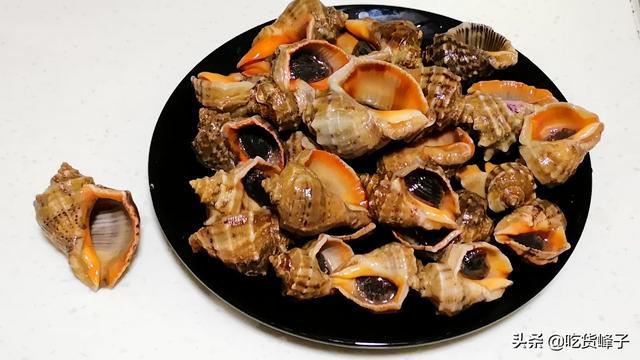 """海螺的吃法,海螺的尾部是""""黄""""还是""""屎""""?海边人教你正确吃法,否则钱白花"""
