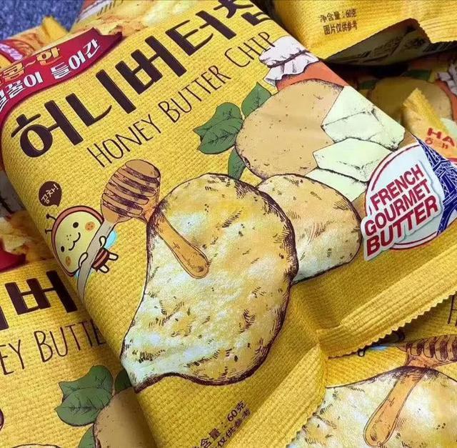 蜂蜜黄油薯片💛张艺兴同款🍟《向往的生活》张艺兴念叨的薯片