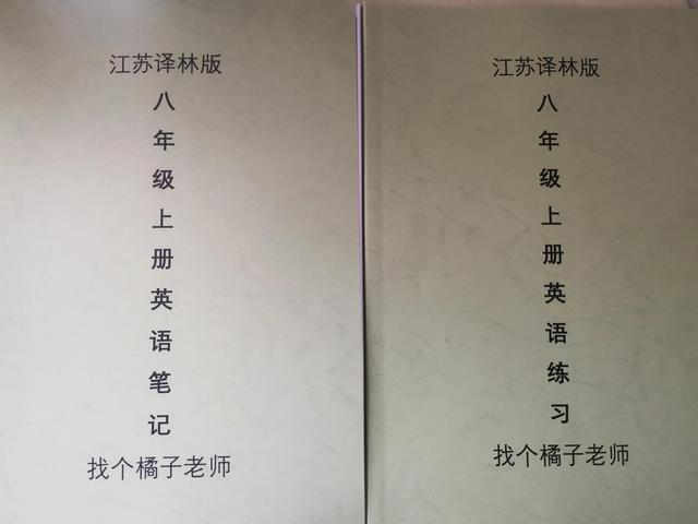 江苏译林英语8上语法笔记视频