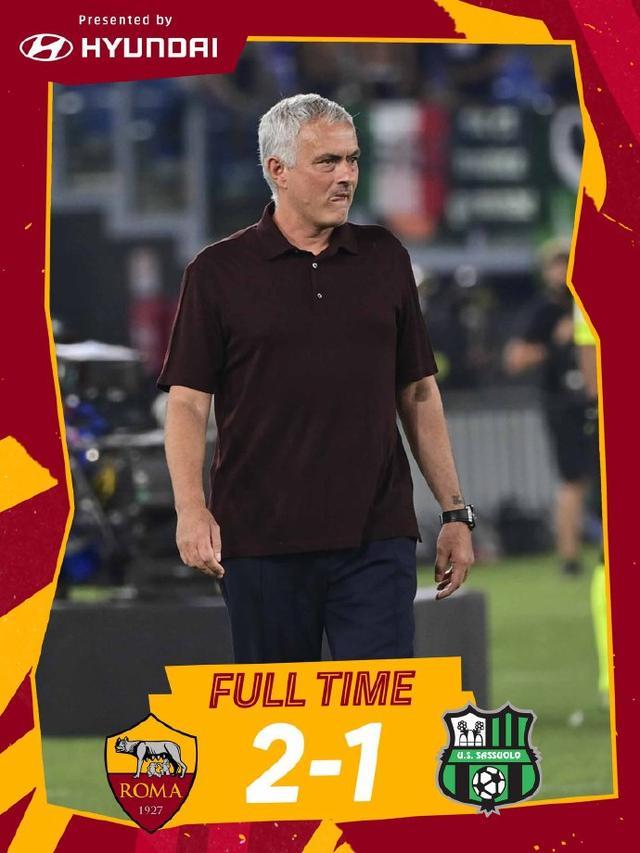 「罗马2-1萨索洛」沙拉维绝杀,穆帅千场取3分 全球新闻风头榜 第1张