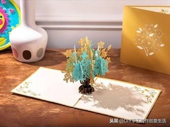 怎么做立体贺卡最漂亮,要过节了,是不是要准备贺卡了呀?试试DIY一份立体纸雕贺卡吧