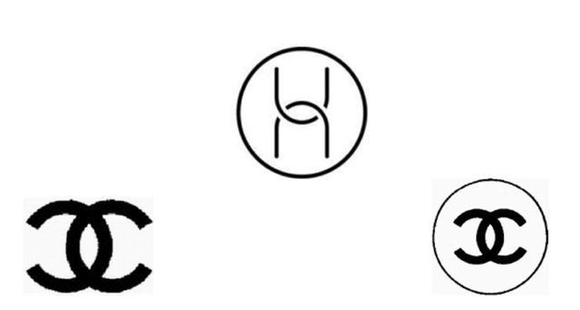 法国香水生产商chanel说这两者之间Logo太类似了
