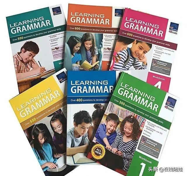 免费下载|最适合小学生学习的英语语法全套SAP Learning Grammar