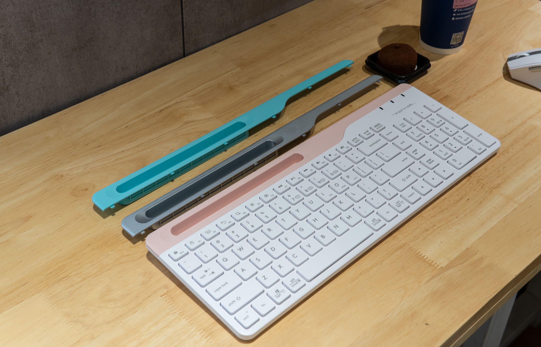 无线静音办公,4设备智能切换,双飞燕无线蓝牙办公键鼠上手体验