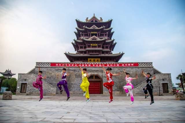 2021郓城水浒好汉城春季研学旅行正在进行中(图16)
