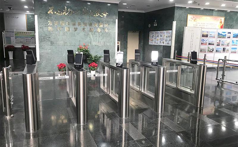 广东省交通运输厅(广东交通大厦)-人脸识别摆闸