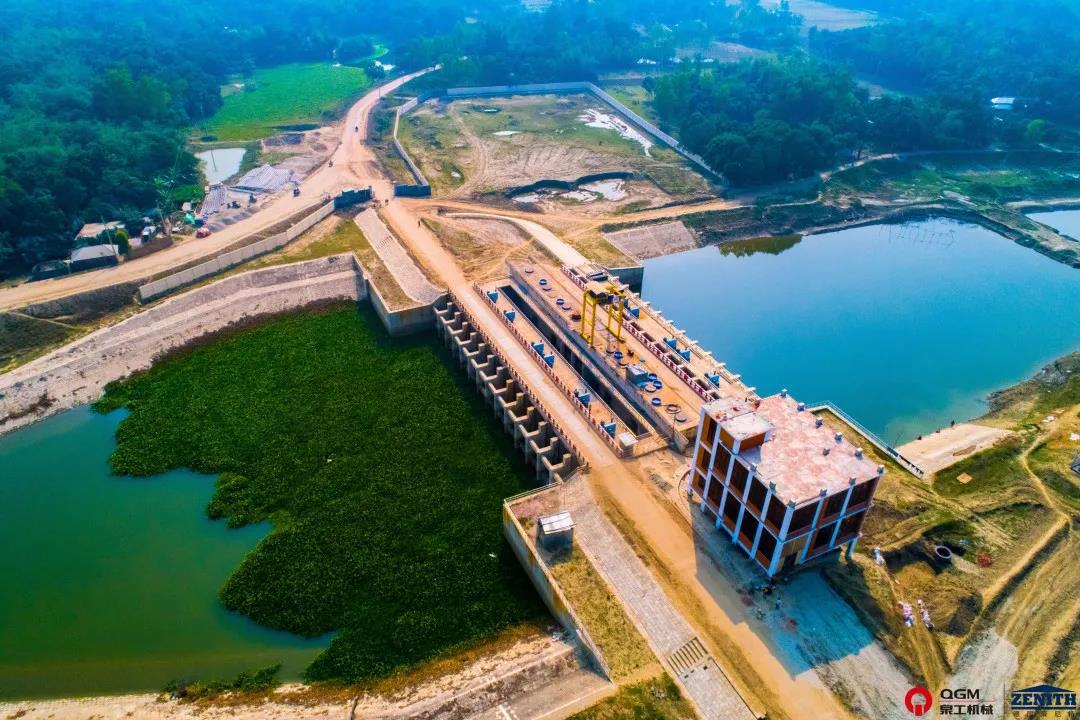 孟加拉河道治理项目全景
