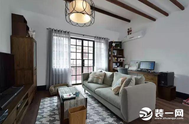 25套现代简约风格客厅装修效果图 体味佛系简单生活