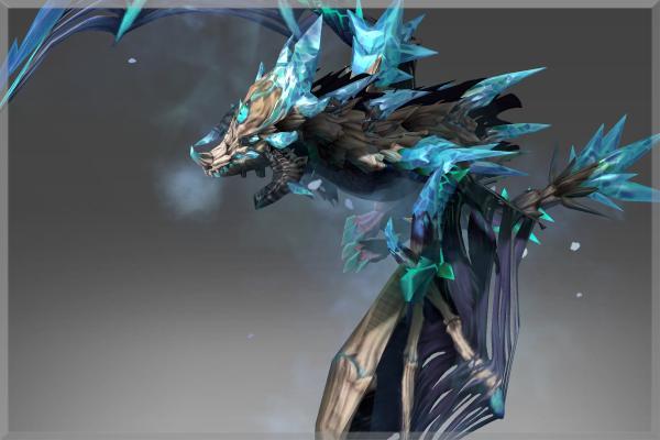 傲洛斯:寒冬诅咒下的冰霜白骨-冰龙
