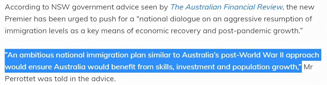为重建经济,澳洲计划五年内实现增长200万移民!深度解析来了