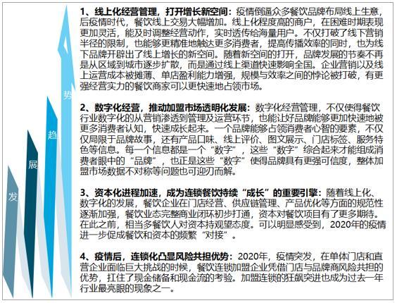 2020年中国餐饮连锁增盟行业发外现状及将来发展趋势分析