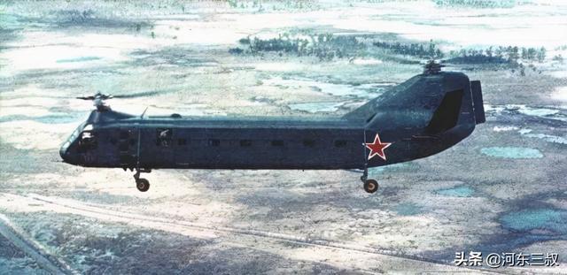 生不逢时,苏联缩小版支奴干,来自卡莫夫V-50双旋翼纵列式直升机