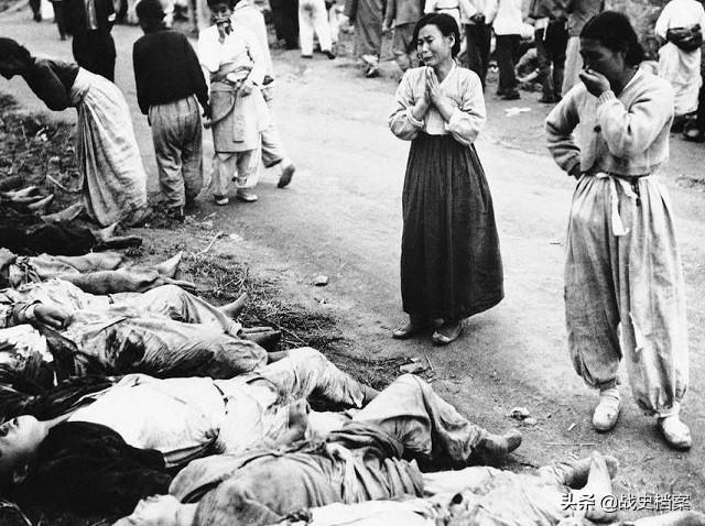 南北朝鲜战争:鲜为人知的南朝鲜大屠杀,十万人被杀,美国帮助掩盖真相