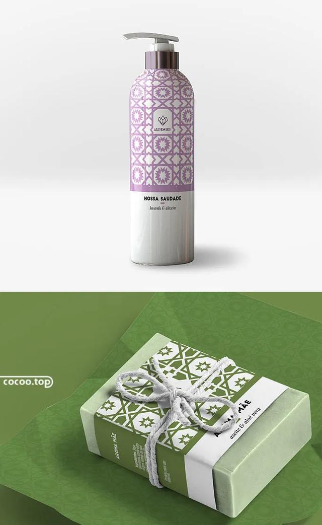 基于自然元素的化妆品包装