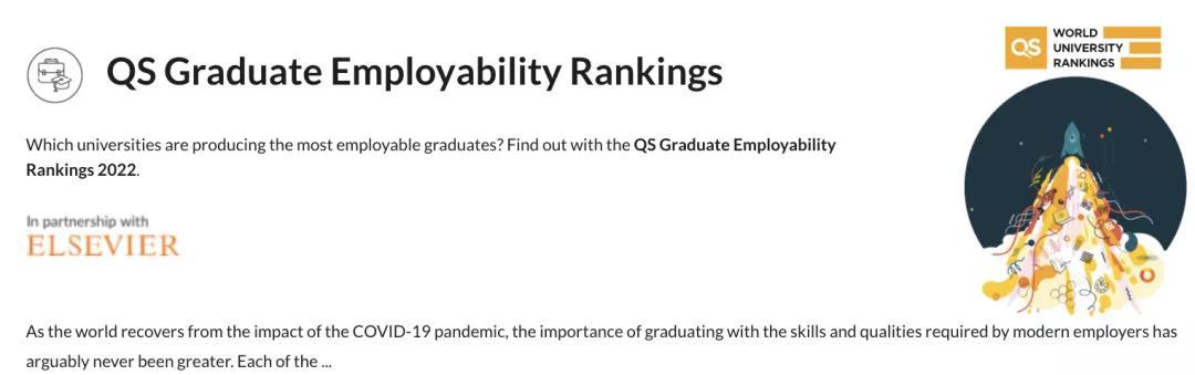 全球大学就业力排行:悉尼、墨尔本大学进前10!超过清华、牛津