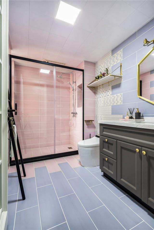 23张卫生间装修实拍图,总有一款合法你家,快来参考