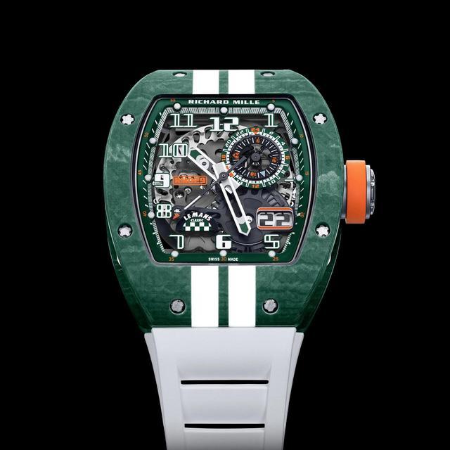 理查德·米勒出新款手表,土豪们准备好了么  第7张
