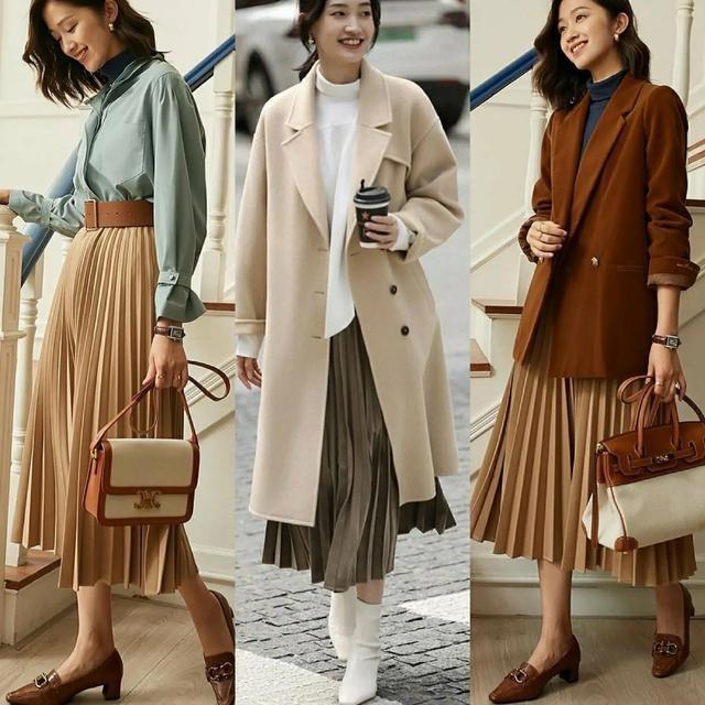 3040岁的女人,秋天试试这4个单品,搭配时尚又保暖,很实用