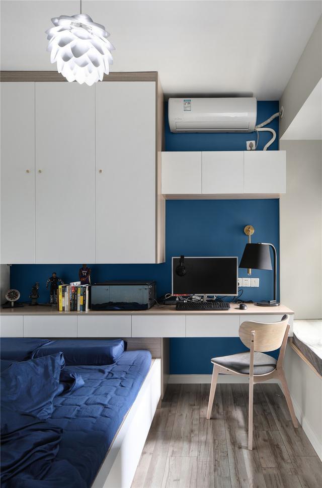 27张儿童房的书桌装修设计,给孩子一种舒适的学习空间很重要