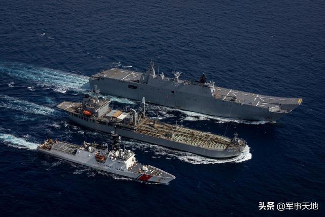 印尼渔民立功了!澳大利亚准航母还没进南海,中国军舰便如影随形