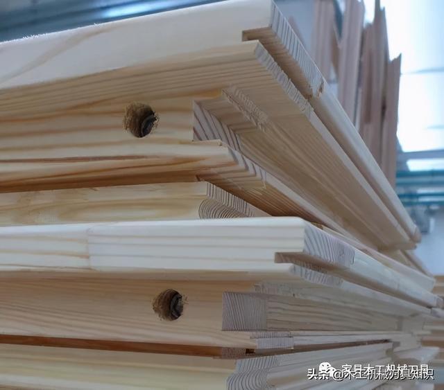 欧式实木门窗用集成材生产工艺流程及选用设备