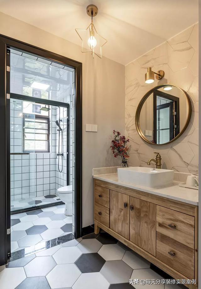 卫生间不懂装修,望望这十一款卫生间装修实景案例,有你爱的吗