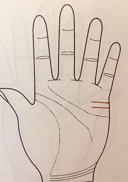 手掌解析运势图婚姻(手掌纹路运势解析)-第6张图片-天下生肖网