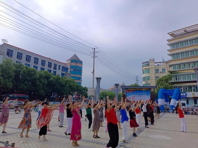 """永新县妇女联合会""""巾帼心向党,百年正辉煌""""第六期舞蹈培训"""