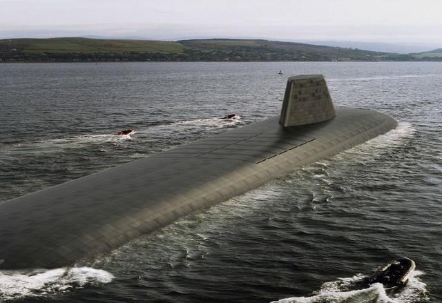澳大利亚取消采购法国潜艇后,英国开始研制下一代核潜艇