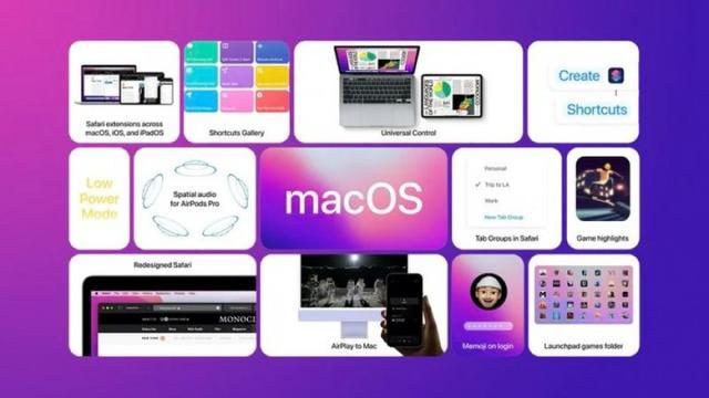 macOS 12 Monterey公测版今天发布
