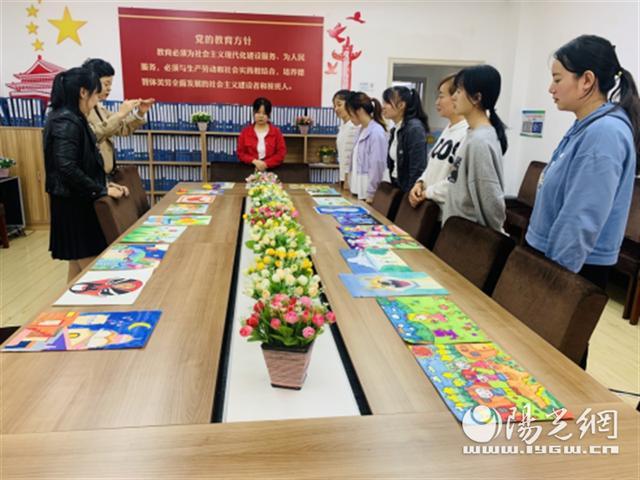 灞桥中心校辖区灞桥街道中心幼儿园开展教师技能考核活动