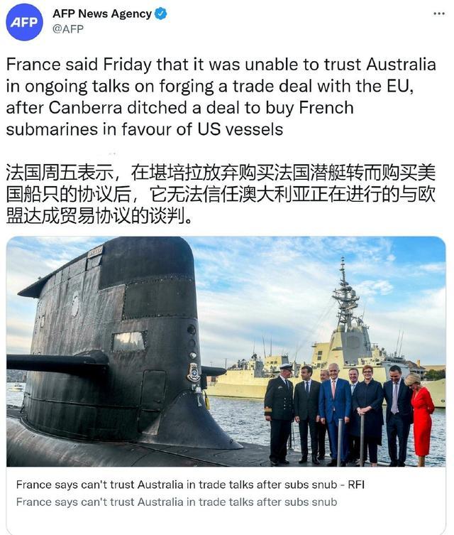 冲突升级!法国威胁要制裁澳大利亚,还警告马里不要和俄罗斯合作