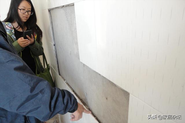 装修铺贴瓷砖,很容易表现5个题现在,把握住5点能缩小这些题现在