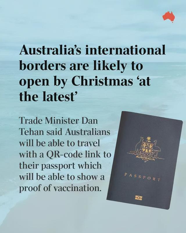 澳国境最迟圣诞前开放!中国疫苗可能被认可