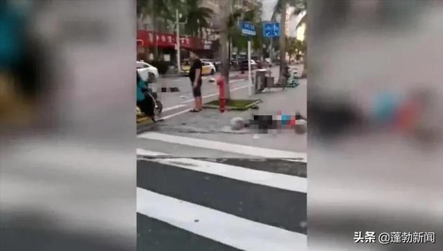 海口一越野车撞人后逃逸,事故致1死1伤