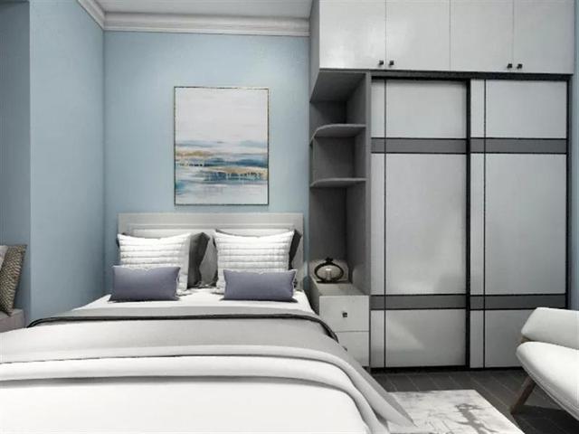 她把床头柜扔了,竟发现卧室美翻了,解锁卧室装修的新技能