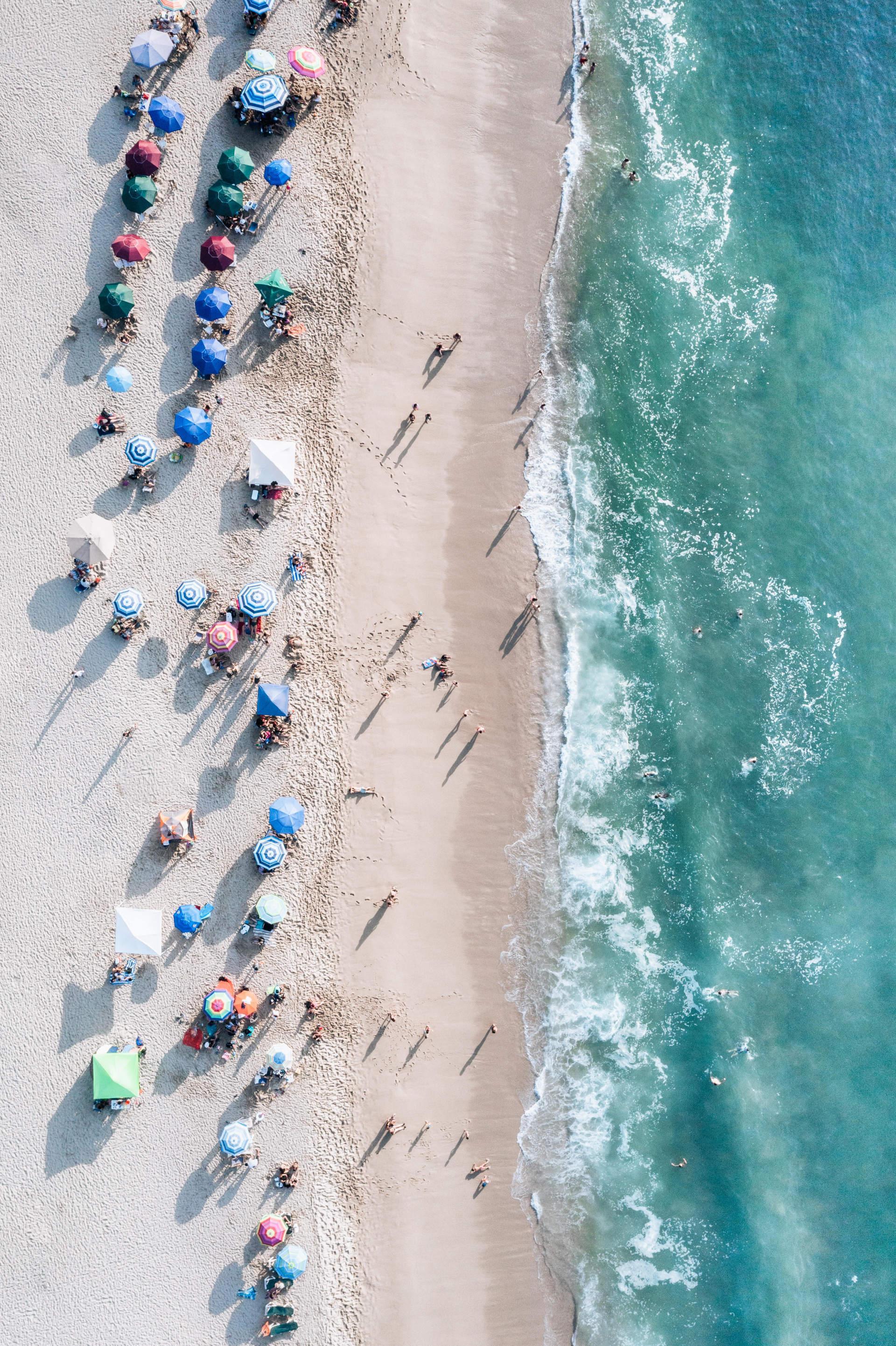 夏日阳光沙滩