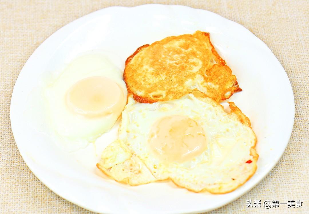 厨师长教你3种煎荷包蛋做法和技巧 不粘锅不散