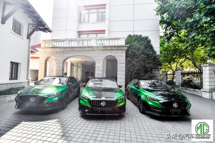 MG在上海举办MG6 XPOWER首场交车仪式
