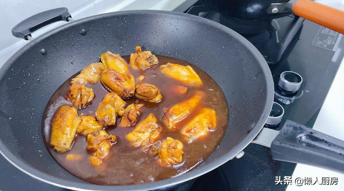 饭店烧的红烧鸡肉那么好吃!诀窍就在这里