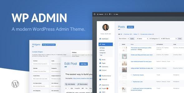 wphave Admin – 一个干净简洁的后台样式 WordPress 插件