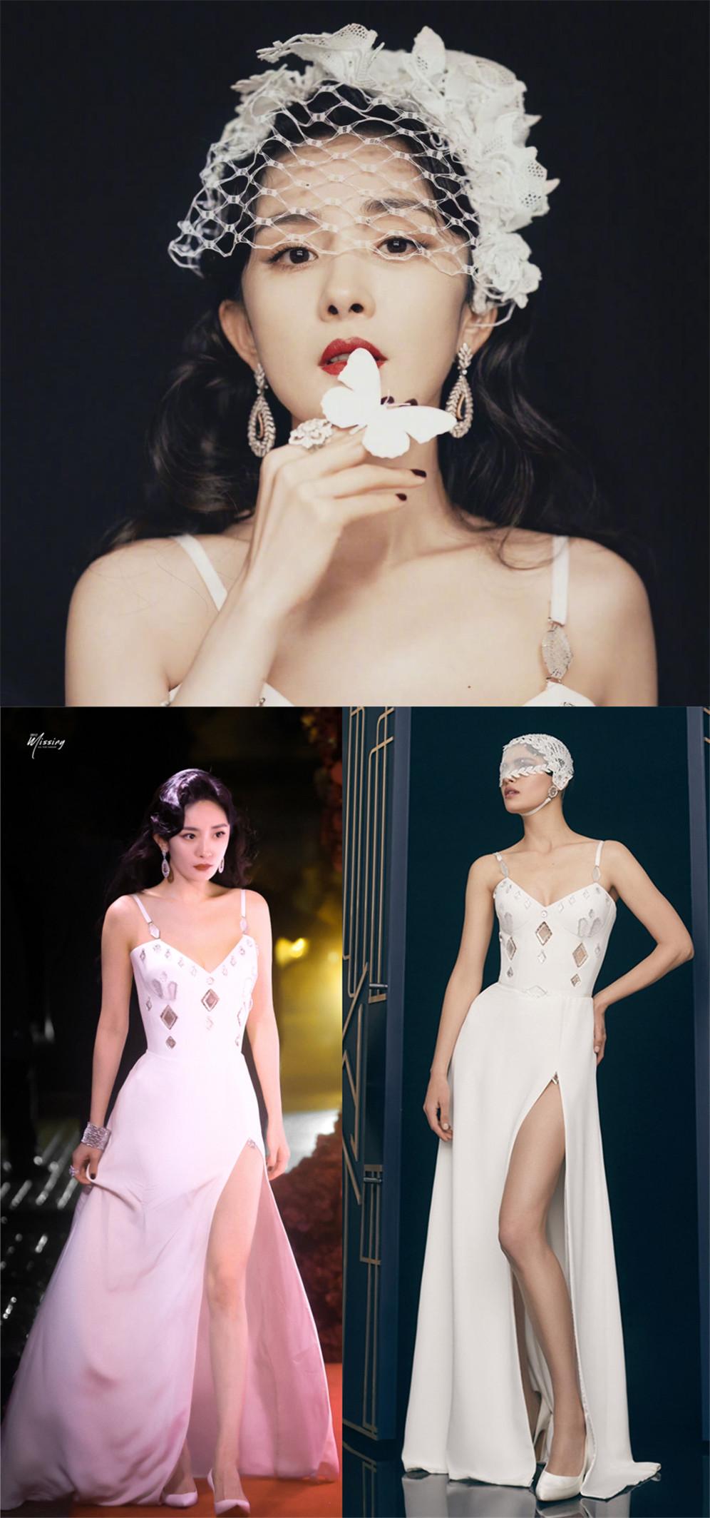 四大國模紅毯拼時髦,湯唯西裝配千萬珠寶,楊冪明艷卻沒燙裙子 形象穿搭 第11張