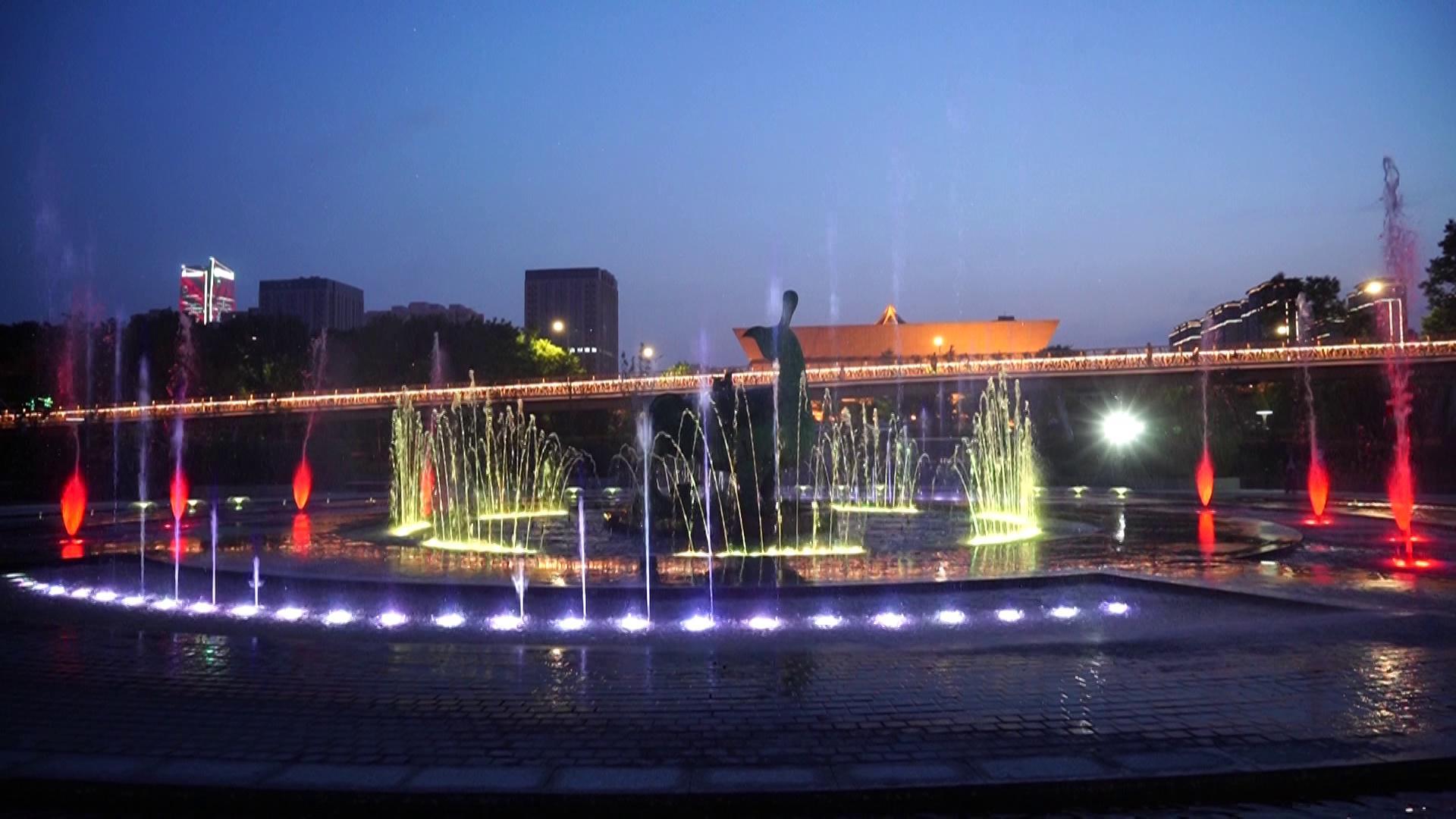 四川程控喷泉