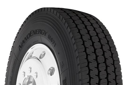 绿色耐磨,东洋推出超级区域驱动轮胎
