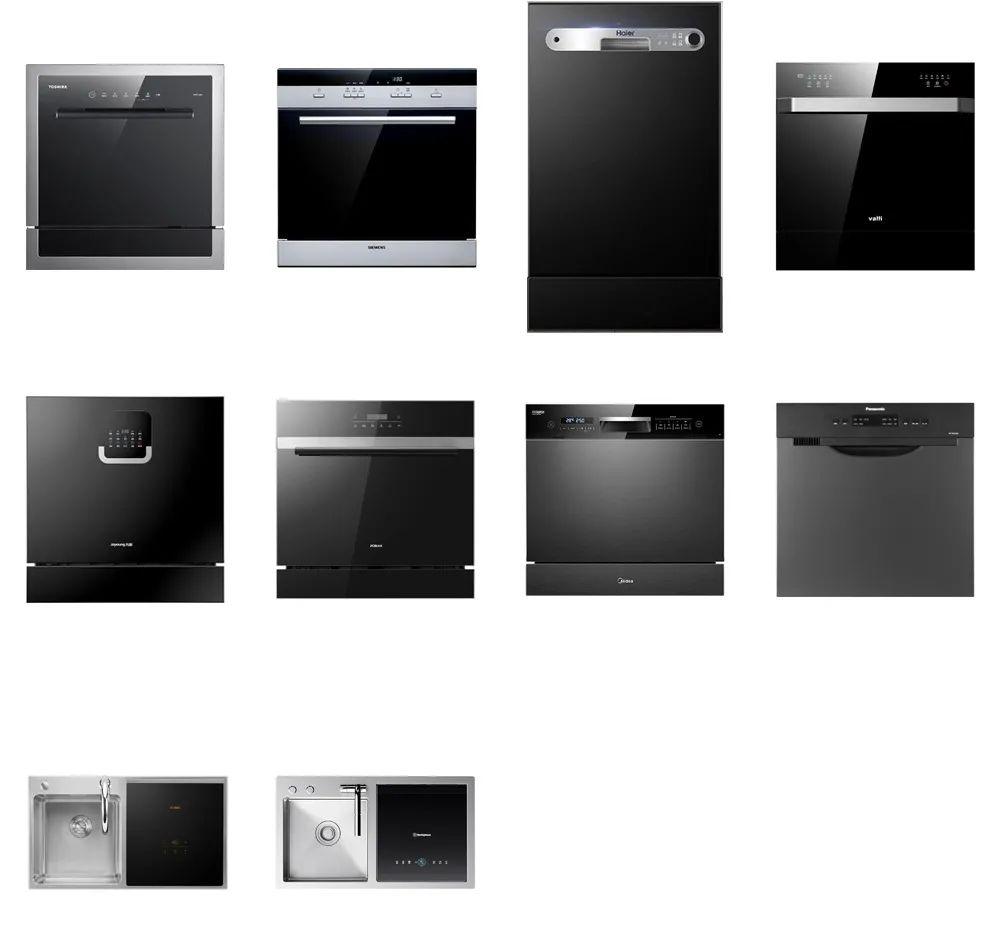 十款洗碗机测评:洗涤性能方太垫底,美的、西屋干燥性能垫底